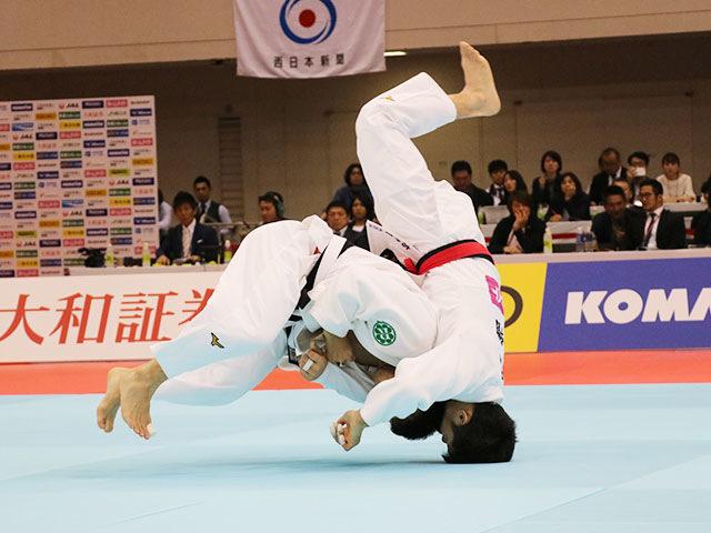 男子60kg級決勝戦 志々目徹vs永山竜樹�B