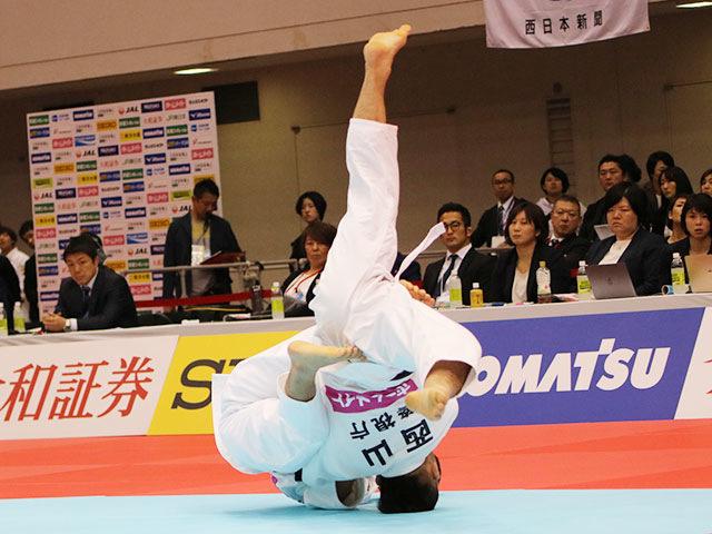 男子66kg級準決勝戦 丸山城志郎vs西山祐貴
