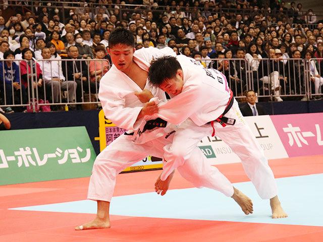 男子66kg級決勝戦 阿部一二三vs丸山城志郎�@