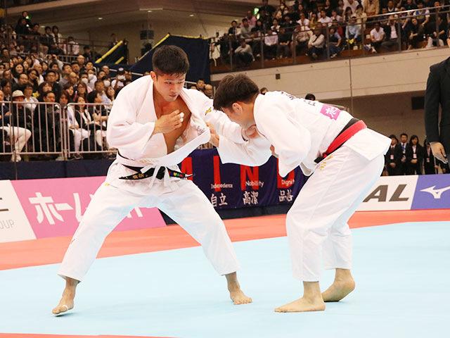 男子66kg級決勝戦 阿部一二三vs丸山城志郎�A