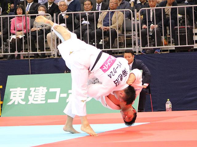 男子73kg級準決勝戦 大野将平vs海老沼匡