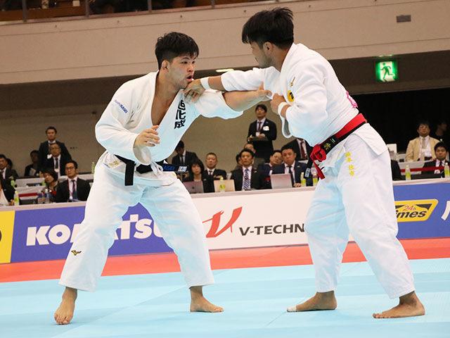 男子73kg級決勝戦 橋本 壮市vs大野将平�@