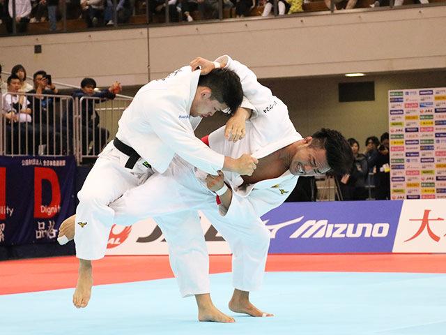男子73kg級決勝戦 橋本 壮市vs大野将平�A