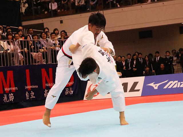 男子73kg級決勝戦 橋本 壮市vs大野将平�B