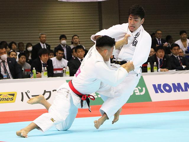男子81kg級1回戦 藤原崇太郎vs友清光