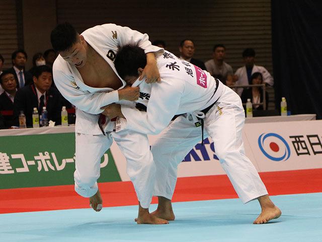 男子81kg級準決勝戦 藤原崇太郎vs永瀬貴規�@