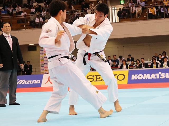 男子81kg級決勝戦 永瀬貴規vs佐藤正大�@
