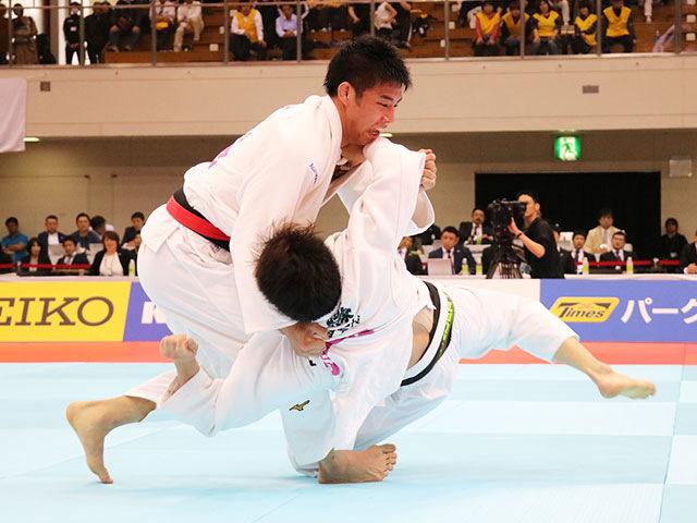 男子81kg級 永瀬貴規vs佐藤正大