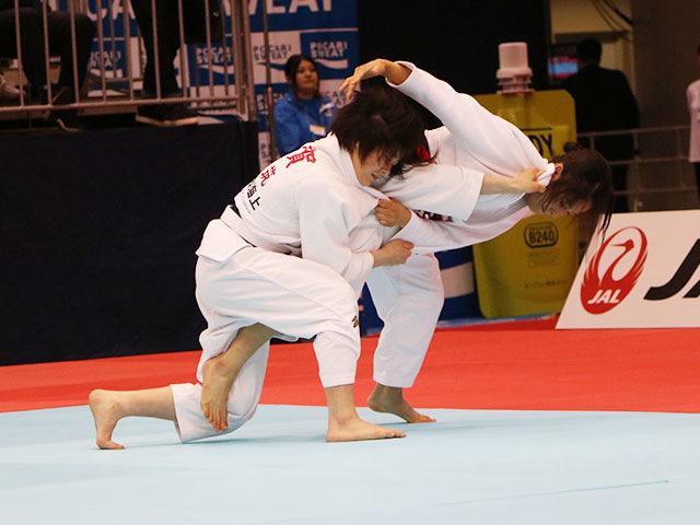 女子48kg級準決勝戦 小倉葵vs古賀若菜
