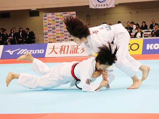 女子48kg級 山�ア珠美vs古賀若菜