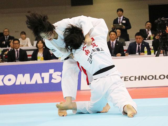 女子48kg級決勝戦 山�ア珠美vs古賀若菜�B