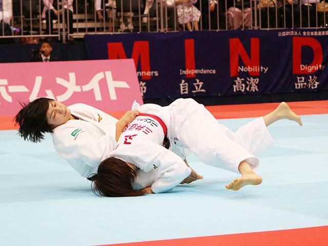 女子57kg級準決勝戦 玉置桃vs舟久保遥香