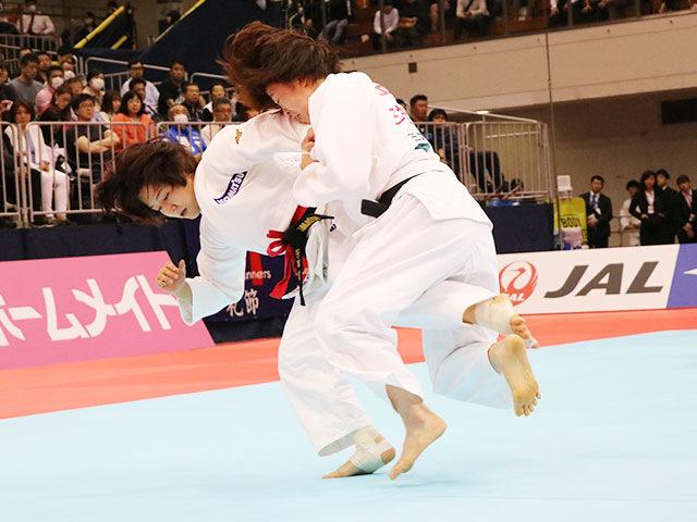 女子57kg級決勝戦 芳田司vs玉置桃�A