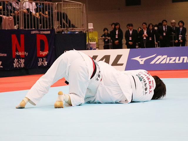女子57kg級決勝戦 芳田司vs玉置桃�B