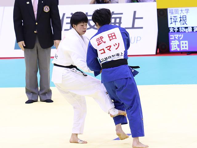 決勝戦 坪根菜々子vs武田亮子②