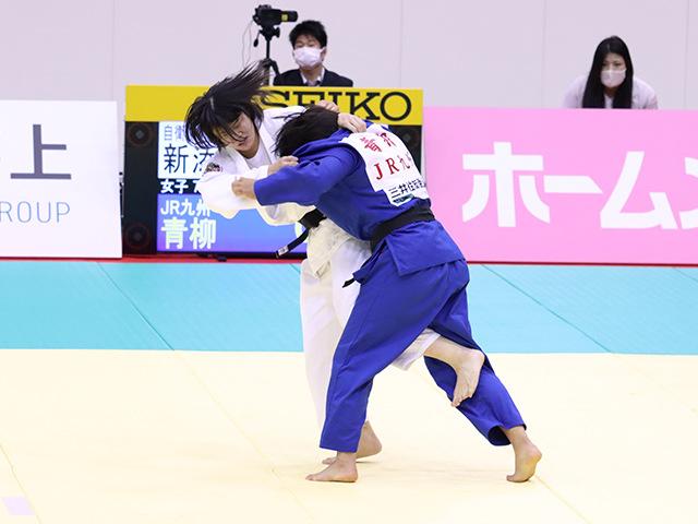 1回戦 新添左季vs青柳麗美①