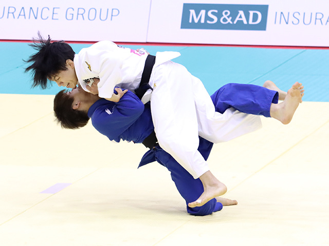 男子60kg級 古賀玄暉 vs 竪山将�@