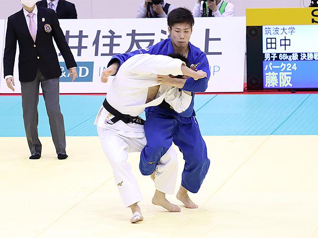 男子66kg級 田中龍馬 vs 藤阪泰恒�@