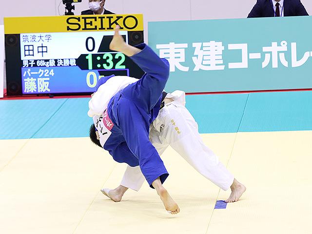 男子66kg級 田中龍馬 vs 藤阪泰恒�A