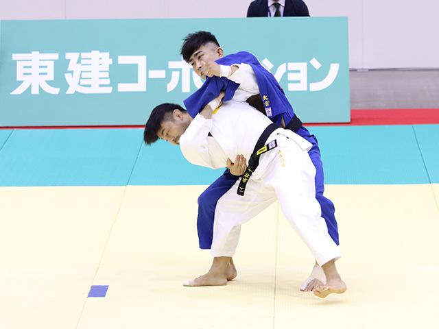 男子73kg級 橋本壮市 vs 大吉賢