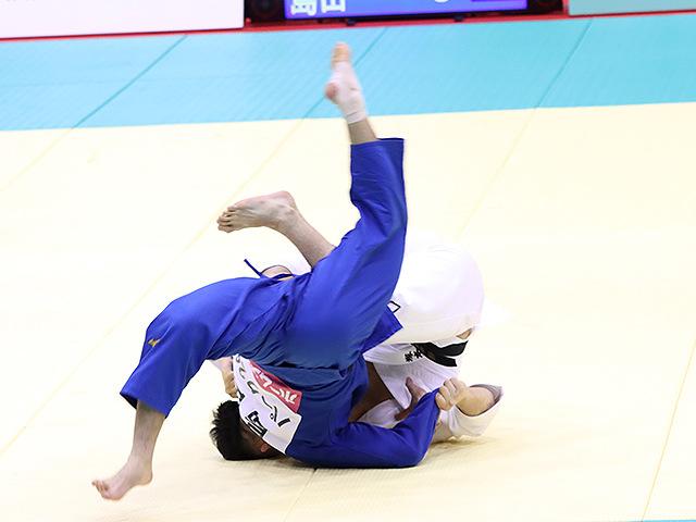 男子73kg級 塚本綾 vs 島田隆志郎