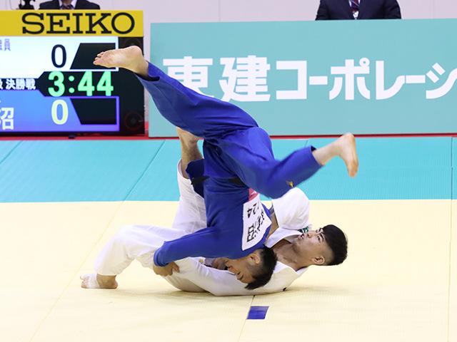 男子73kg級 大吉賢 vs 海老沼匡