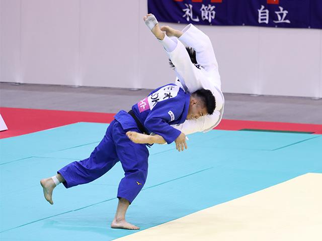 男子81kg級 藤原崇太郎 vs 佐々木健志�@