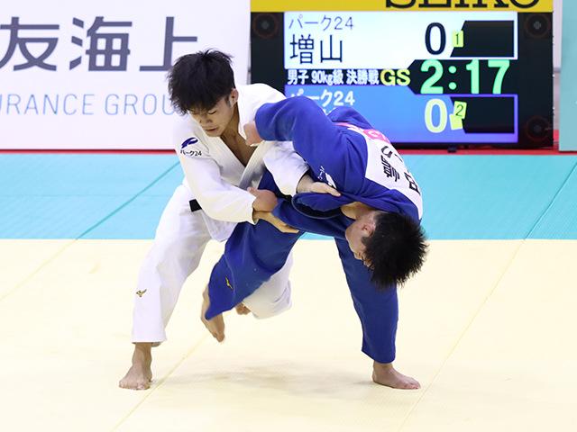 男子90kg級 増山香補 vs 田嶋剛希�A