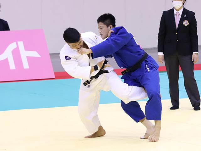 男子100kg級 神垣和他 vs 西山大希