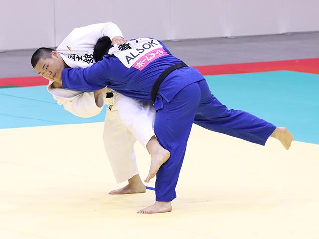 男子100kg超級 斉藤立 vs 香川大吾