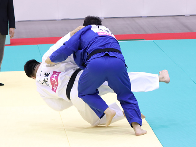 男子100kg超級 王子谷剛志 vs 中野寛太