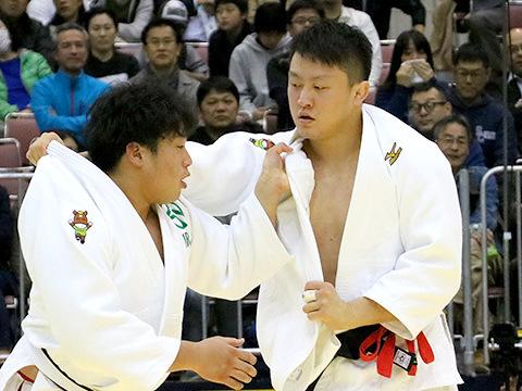 2018年選抜体重別 男子100kg超級 準決勝 原沢久喜 vs 影浦心