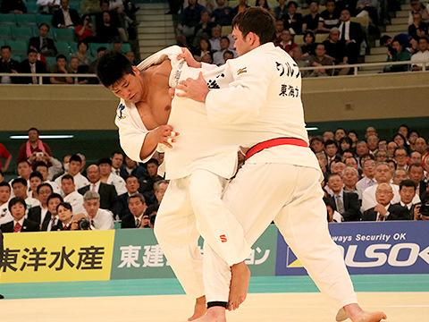 2017年全日本選手権 準決勝 加藤博剛 vs ウルフアロン