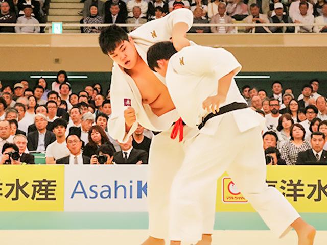 2018年全日本選手権 4回戦 小川雄勢vs山口貴也
