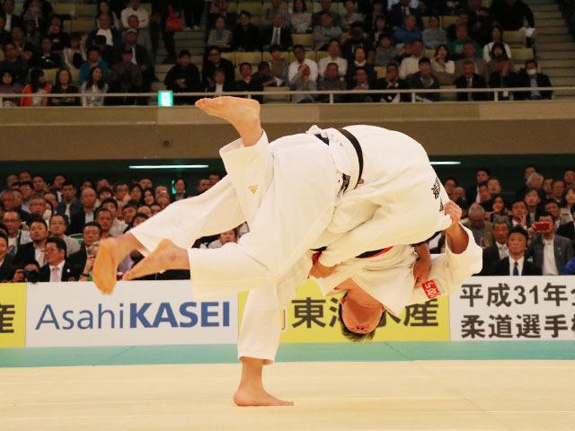 平成31年全日本柔道選手権大会 2回戦 原沢久喜 vs 澤建志郎