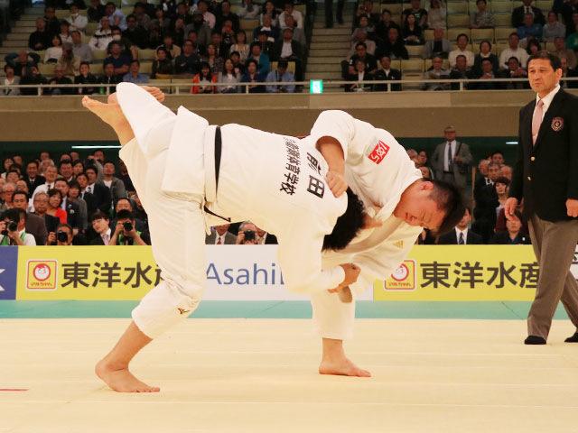 平成31年全日本柔道選手権大会 3回戦 原沢久喜 vs 前田宗哉