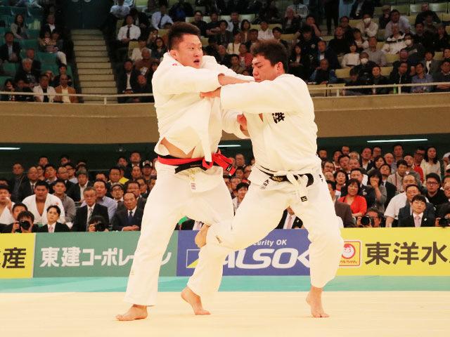 平成31年全日本柔道選手権大会 4回戦 原沢久喜 vs 太田彪雅�A
