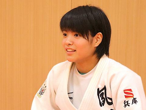 夙川学院中学校に進学し、初めて手に入れた日本一