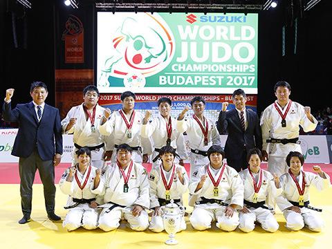2017年ブダペスト世界選手権の団体戦