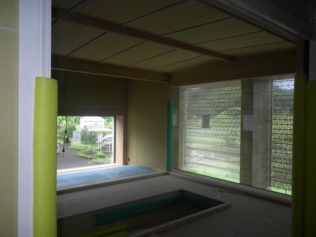 レセプションルーム和室内観