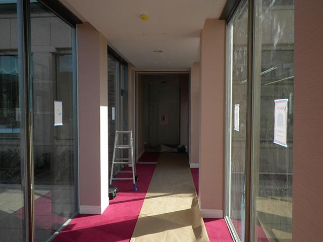 渡り廊下(内観)