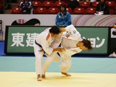 堀江久美子(78kg級)②