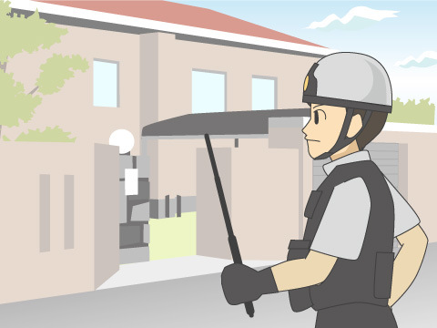 警備会社と警察の連携
